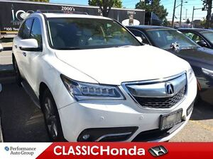 2014 Acura MDX ELITE PACKAGE NAVIGATION REAR DVD LEATHER CLEAN C