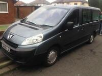 2009 58reg Peugeot Expert Tepee Independence 9 Seater Mobility Mini bus Ramp 1.6 Hdi Lwb