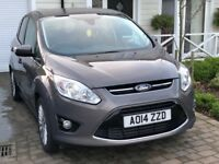 2014 FORD CMAX 2.0 TDCI TITANIUM AUTO - VERY LOW 4500 MILES - FULL FORD SERVICE HISTORY