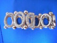 Debenhams Dress Jewellery Braclet - fake diamonds and gold