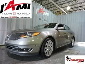 2016 Lincoln MKS EcoBoost AWD GPS TOIT PANO MAGS