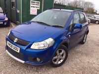 Suzuki SX4 1.6 DDiS 5dr, FSH. 10 STAMPS IN SERVICE BOOK. LONG MOT. 2 KEYS. P/X WELCOME