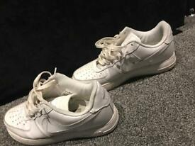 Air Force 1 size 7 white