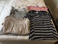 Maternity/Nursing size 8/S clothes bundle