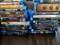 55 Blu-ray Movies for sale.