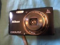 Nikon cool pix s5300 compact digital camera