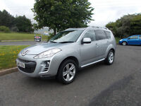 PEUGEOT 4007 GT TD DIESEL 4X4 MPV 7 SEATER SILVER ONLY 71K MILES 2007 BARGAIN 3750 *LOOK*PX/DELIVERY