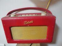 Roberts Revival DAB radio red