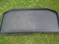Volkswagon UP Boot liner / tray. No damage ideal to protect your car from dogs, garden rubbish etc.
