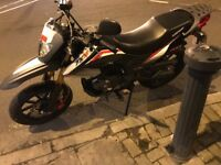 Keeway tx 125cc for sale+ 2 years warranty