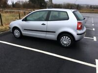 VOLKSWAGEN PETROL POLO, 3 DOOR, FOUR NEW WINTER GRIP TYRES & NEW EXHAUST