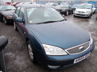 VERY CLEAN MONDEO 2L DIESEL DRIVES A1 ANY TRIAL ,WITH NEW MOT, FULL SERVICE ,WARRANTY ,PX,WELCOME