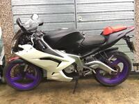 Aprilia Rs 125 project spares or repair track bike