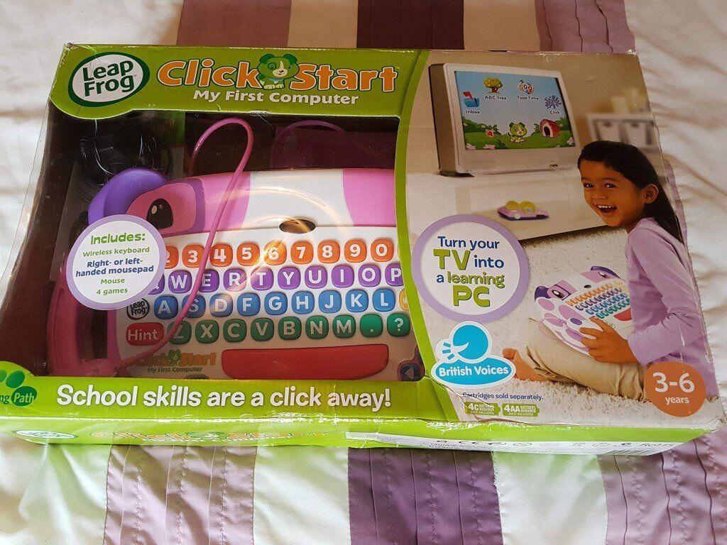 LeapFrog ClickStart My First Computer (Pink)