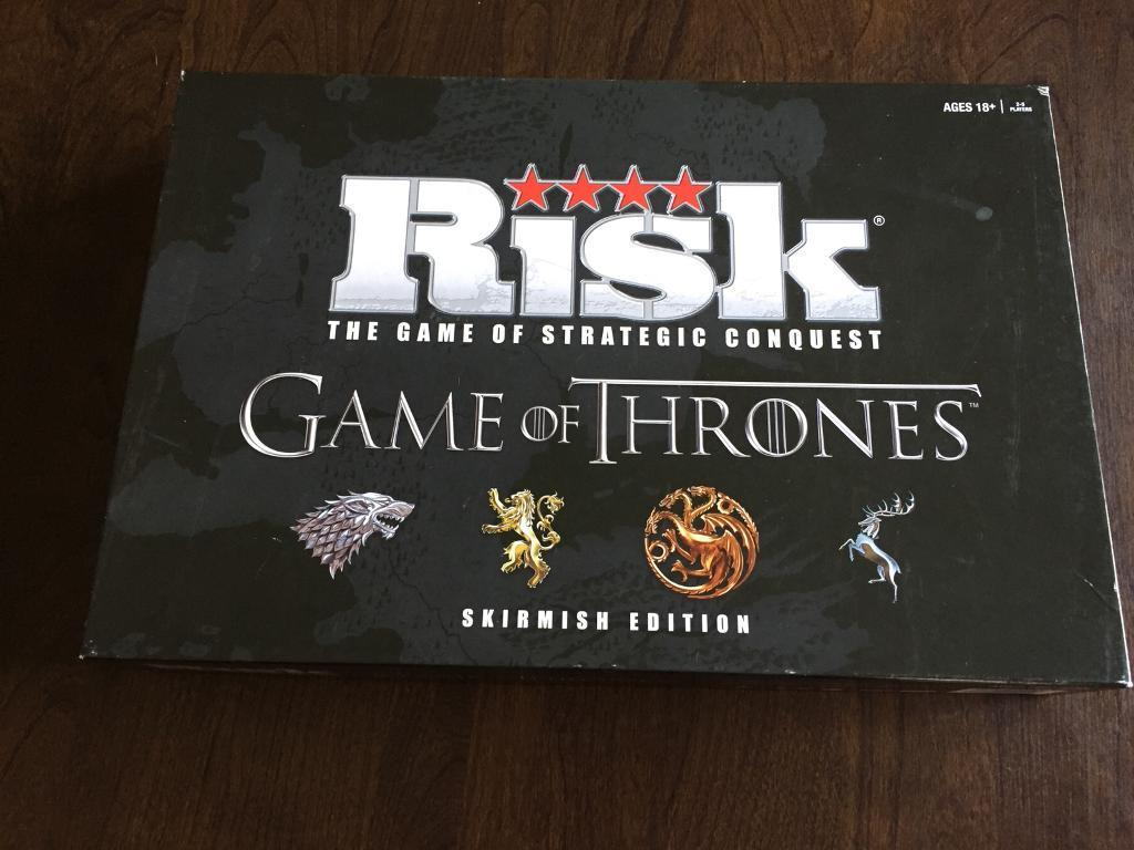 Game of thrones monopoly and risk
