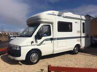 Fiat Ducato autotrail tracker 2.3 diesel 2 berth , REDUCED TODAY BY £2000 low mileage finance