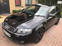 Audi A3 automatic. 2004 S Line. Mot. Tax. Leather. Perfect drive