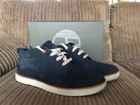 Mens Timberland Earthkeepers Boots Size 8.5 Navy Blue Like New