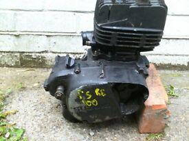 Suzuki ts100 engine 1980,s