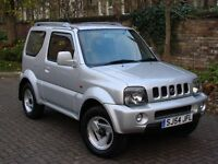 EXCELLENT 4X4!!! 54 REG SUZUKI JIMNY 1.3 MODE 3dr, LONG MOT, HALF LEATHER, WARRANTY