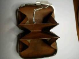 Antique silver pocket purse