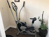 Cross trainer exercise bike elliptical cardio exerciser ORBITRACK EB8109