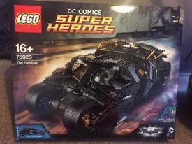 Lego 76023 batman the tumbler