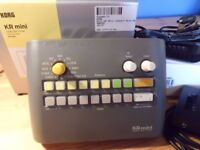 Korg KR Mini drum machine with extras