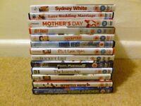 Bundle (58) of Various DVD's + 1 Box Set