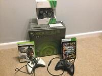 Xbox 360 Elite Black, 120Gb HDD, Games and Accessories