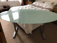 Large, modern Ikea desk for sale