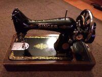 Vintage Singer Manual Sewing Machine