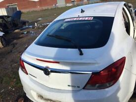 Vauxhall insignia 2010 Rear tailgate white