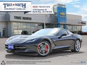 2016 Chevrolet Corvette 2LT Well maintained! Accident free! One