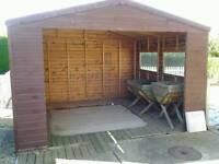 Hottub shed