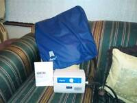 Aura cushion and pump.