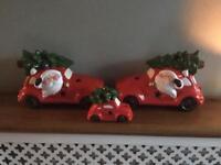 Light up Christmas ornaments