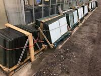 Green house glass 2x2' Carlisle Cumbria Thousands of Panes