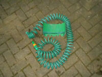 Cheap Hose Pipe 10M retractable Coil Hose with wall bracket
