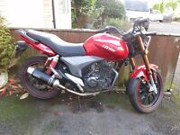 Keyway 125 RKV in great condition. 2 owners from new. Arrow aftermarket exhaust . Good tyres
