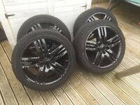 20 inch Alloys with Tyres previously on a Range Rover Sport