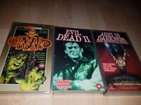Rare horror collection on vhs