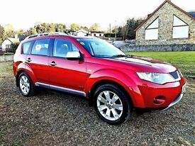 2008 mitubishi Outlander Challenger 2.0 diesel 7 seater leather f\s\h\ jeep rockford fosgate audio