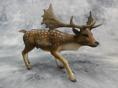 CollectA NIP * Fallow Deer * 88685 Wildlife Antler Replica Model Toy Figurine