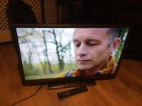 "32"" hitachi led tv free view HDMI scart vga ect"