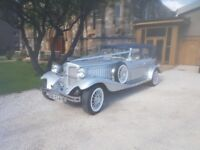 Wedding Car Hire - Stunning Silver Beauford and Mercedes S Class for hire