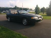 Go topless! 1997 Mustang GT convertible!