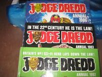 JUDGE DREDD annuals