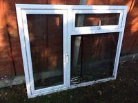 PVC double glazed window