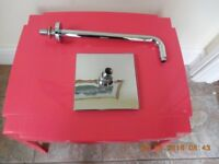 CHROME SHOWER ARM ETC